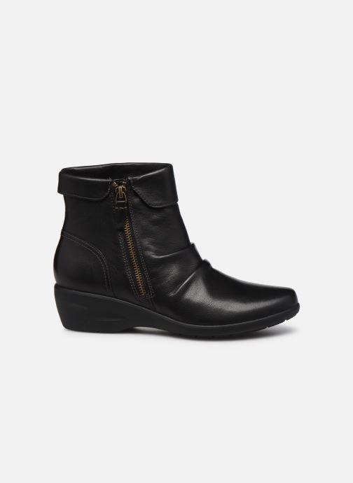 Stiefeletten & Boots Clarks Unstructured Rosely Zip schwarz ansicht von hinten