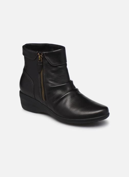 Stiefeletten & Boots Clarks Unstructured Rosely Zip schwarz detaillierte ansicht/modell