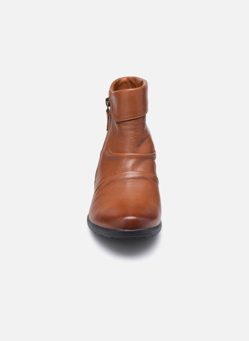 Stiefeletten & Boots Clarks Unstructured Rosely Zip braun schuhe getragen