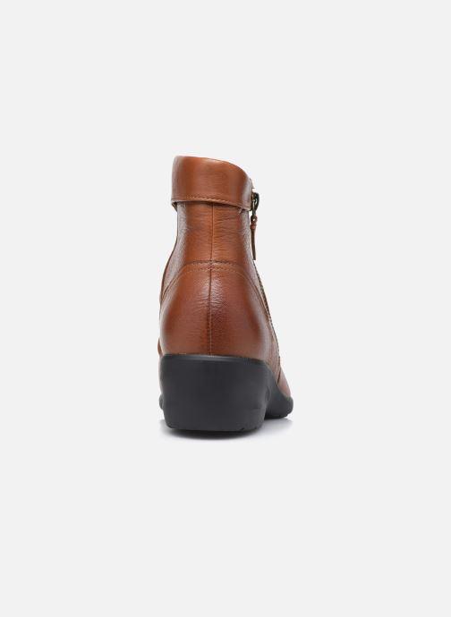 Stiefeletten & Boots Clarks Unstructured Rosely Zip braun ansicht von rechts
