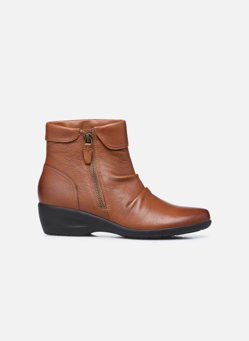 Stiefeletten & Boots Clarks Unstructured Rosely Zip braun ansicht von hinten