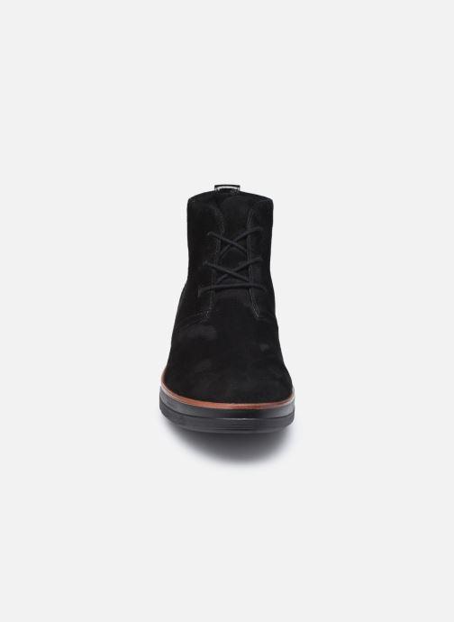 Bottines et boots Clarks Unstructured Shaylin Mid Noir vue portées chaussures