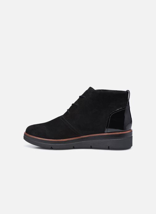 Bottines et boots Clarks Unstructured Shaylin Mid Noir vue face