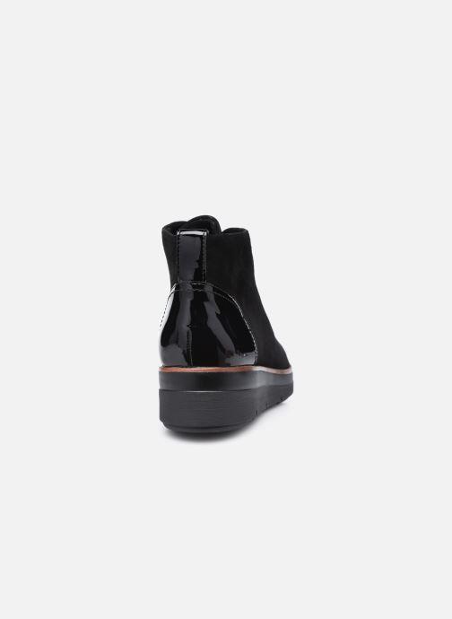 Bottines et boots Clarks Unstructured Shaylin Mid Noir vue droite