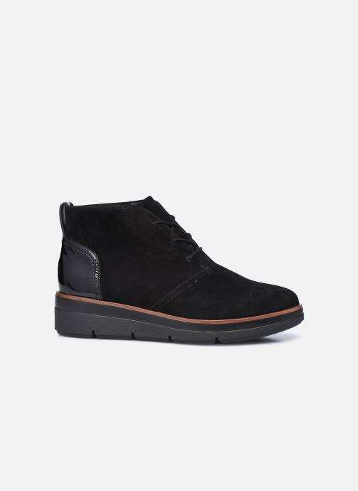 Bottines et boots Clarks Unstructured Shaylin Mid Noir vue derrière