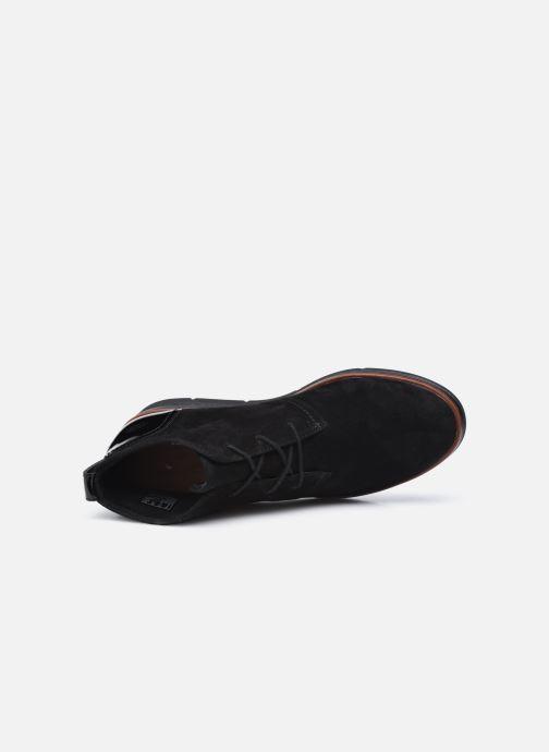 Bottines et boots Clarks Unstructured Shaylin Mid Noir vue gauche