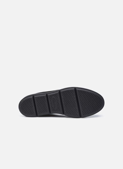 Bottines et boots Clarks Unstructured Shaylin Mid Noir vue haut