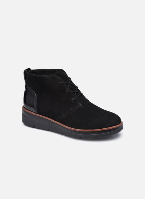 Boots en enkellaarsjes Clarks Unstructured Shaylin Mid Zwart detail