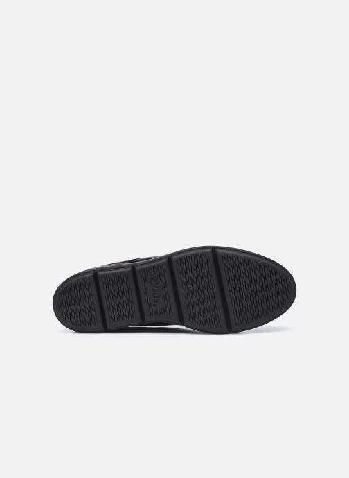 Chaussures à lacets Clarks Unstructured Shaylin Lace Noir vue haut