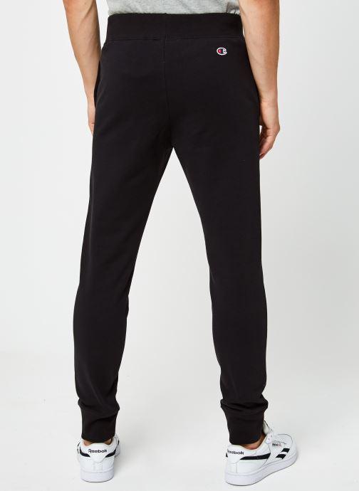 Vêtements Champion Rib Cuff Pants Noir vue portées chaussures