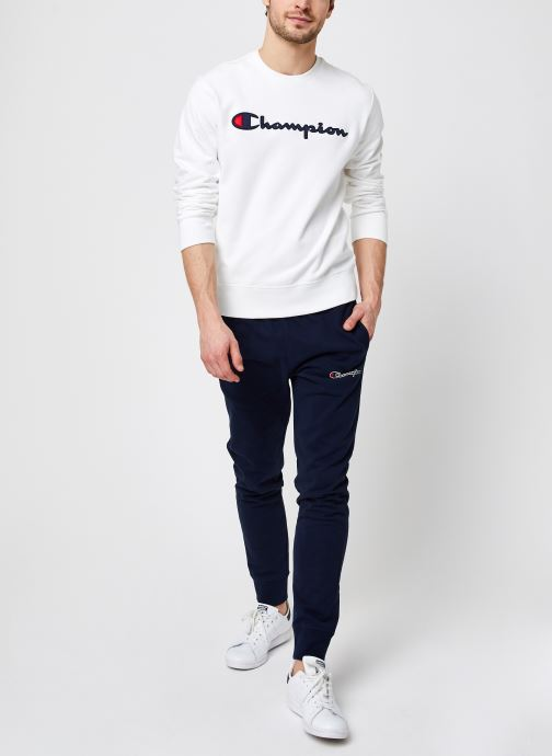 Vêtements Champion Rib Cuff Pants Bleu vue bas / vue portée sac