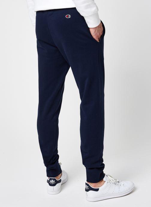 Vêtements Champion Rib Cuff Pants Bleu vue portées chaussures