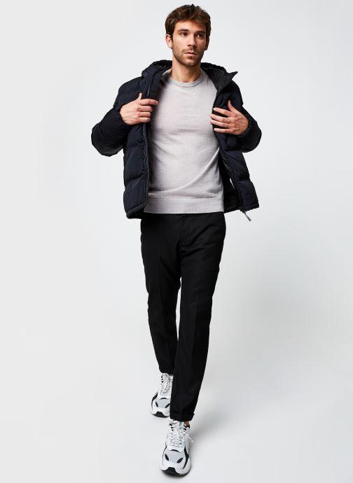 Vêtements Champion Hooded Jacket Noir vue bas / vue portée sac