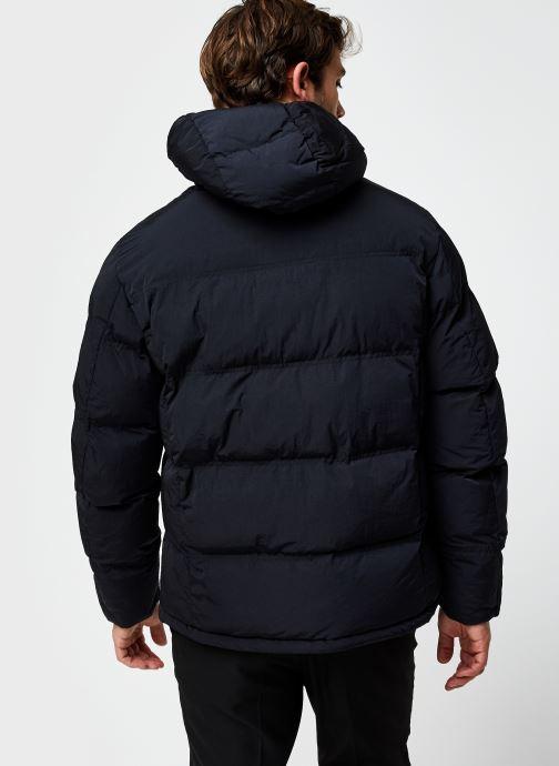 Vêtements Champion Hooded Jacket Noir vue portées chaussures