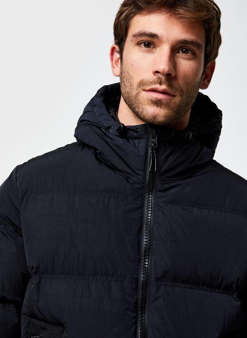 Vêtements Champion Hooded Jacket Noir vue face