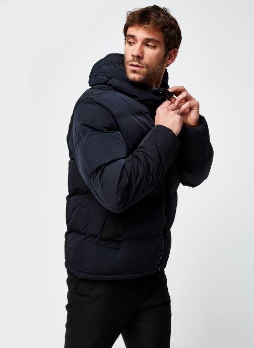 Vêtements Champion Hooded Jacket Noir vue droite