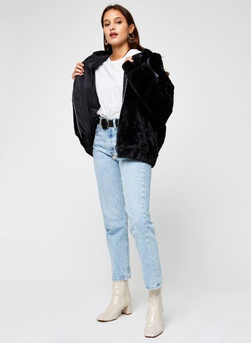 Vêtements Ellesse Giovanna Noir vue bas / vue portée sac