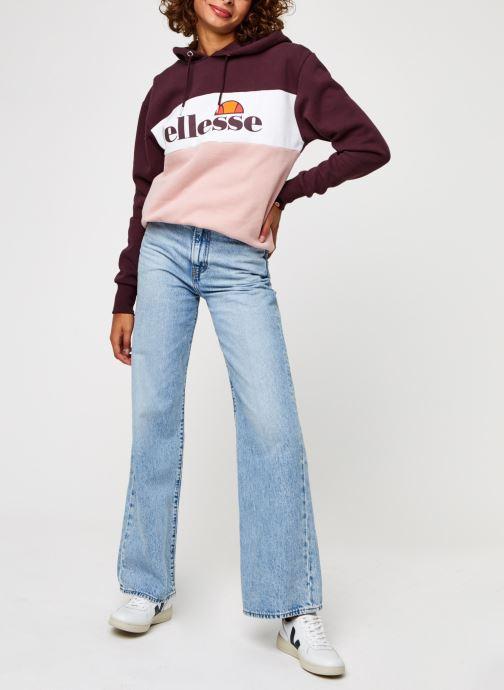 Vêtements Ellesse Lassandra Violet vue bas / vue portée sac