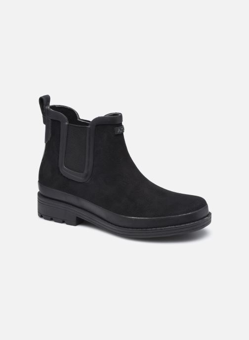 Boots en enkellaarsjes Aigle Textile Boot W Zwart detail
