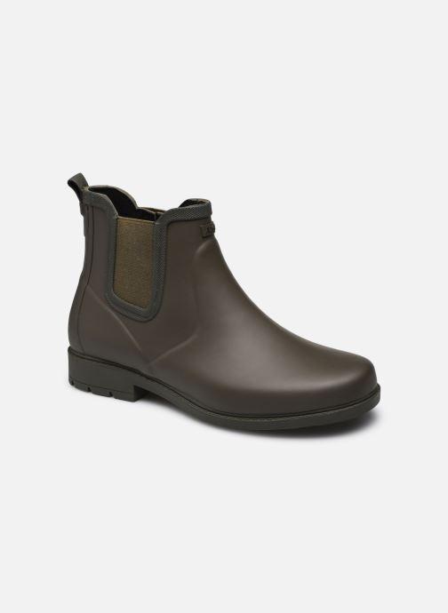 Bottines et boots Aigle Carville M Vert vue détail/paire