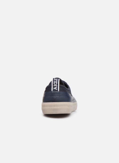 Sneakers Aigle Rubber Low M Blauw rechts