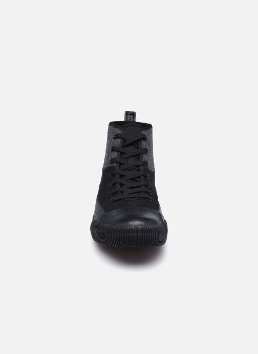 Baskets Aigle Rubber Md Wint Noir vue portées chaussures