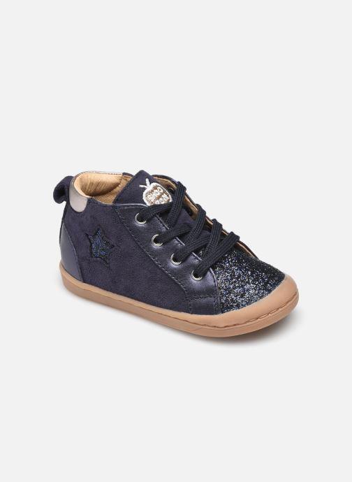 Bottines et boots Shoo Pom Kikki Star Bleu vue détail/paire