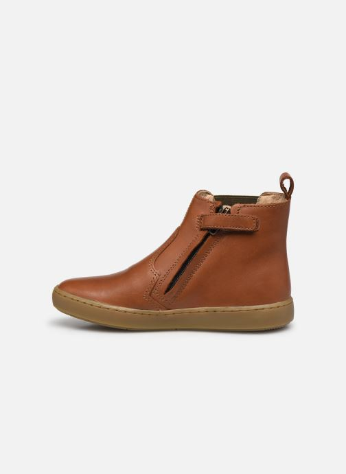 Boots en enkellaarsjes Shoo Pom Play Chelsea Bruin voorkant