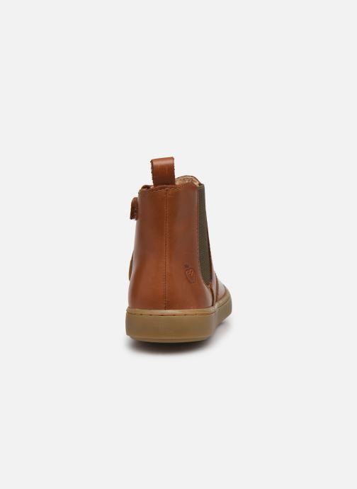 Bottines et boots Shoo Pom Play Chelsea Marron vue droite