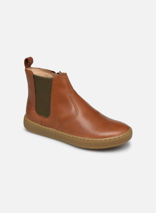 Bottines et boots Shoo Pom Play Chelsea Marron vue détail/paire