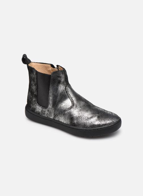 Boots en enkellaarsjes Shoo Pom Play Chelsea Zilver detail
