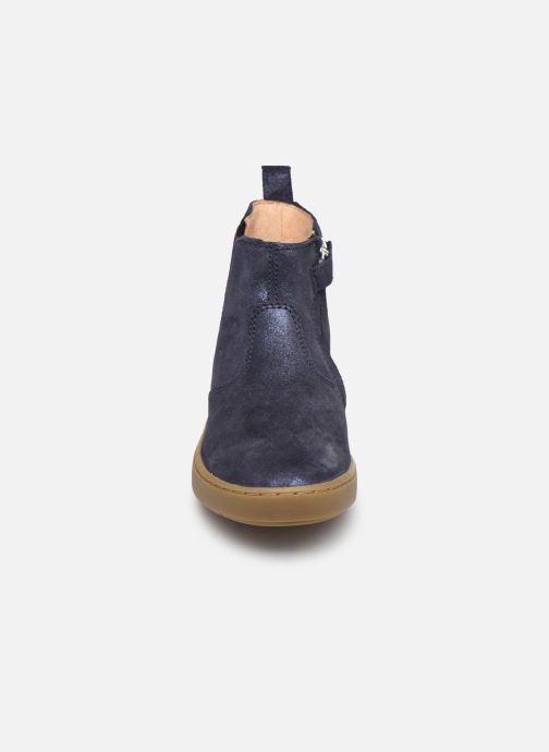 Bottines et boots Shoo Pom Play Chelsea Bleu vue portées chaussures