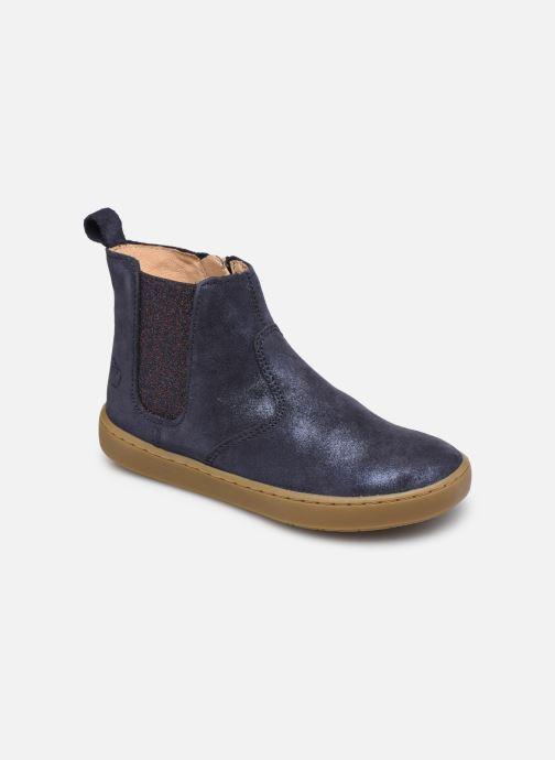 Bottines et boots Shoo Pom Play Chelsea Bleu vue détail/paire