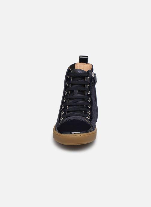 Sneaker Shoo Pom Play Joolace blau schuhe getragen