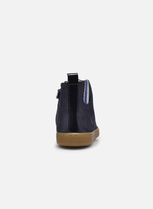 Sneaker Shoo Pom Play Joolace blau ansicht von rechts