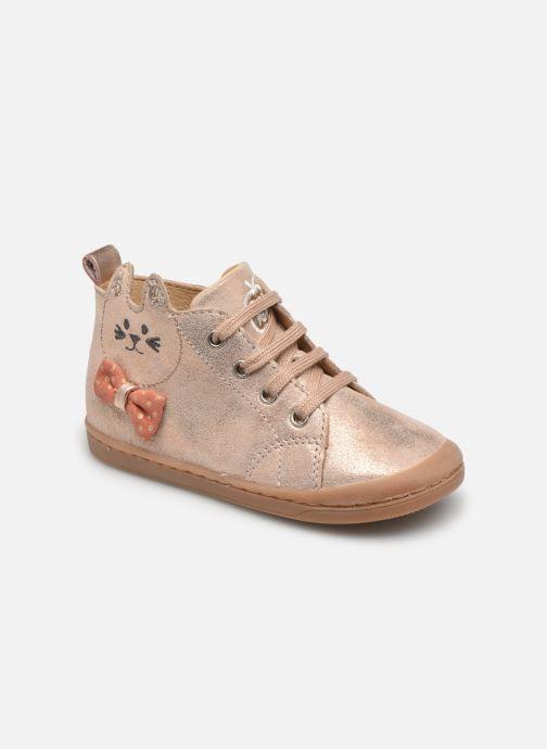 Bottines et boots Shoo Pom Kikki Wou Beige vue détail/paire