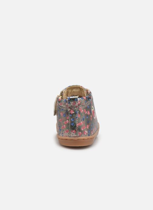 Boots en enkellaarsjes Shoo Pom Kikki Zip Lace Goud en brons rechts