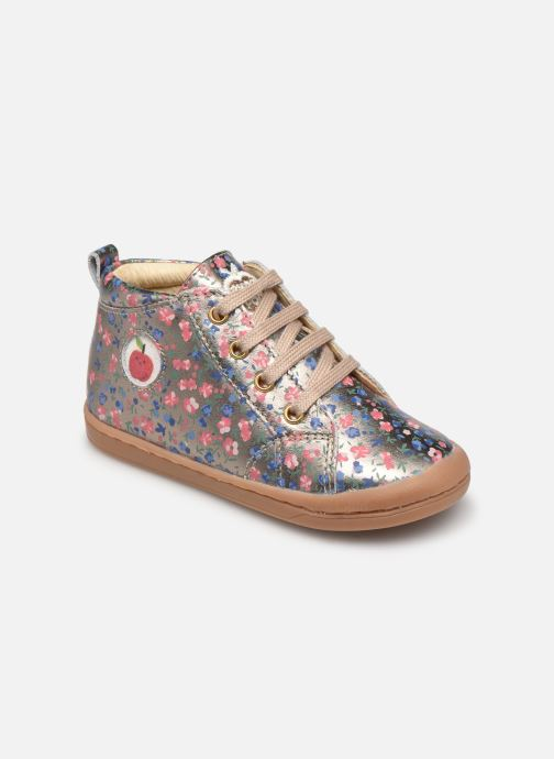 Boots en enkellaarsjes Shoo Pom Kikki Zip Lace Goud en brons detail