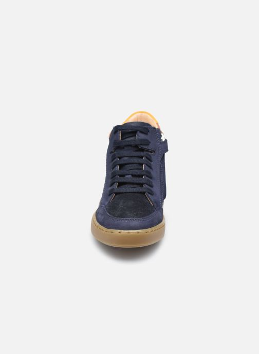 Sneaker Shoo Pom Play Connect blau schuhe getragen