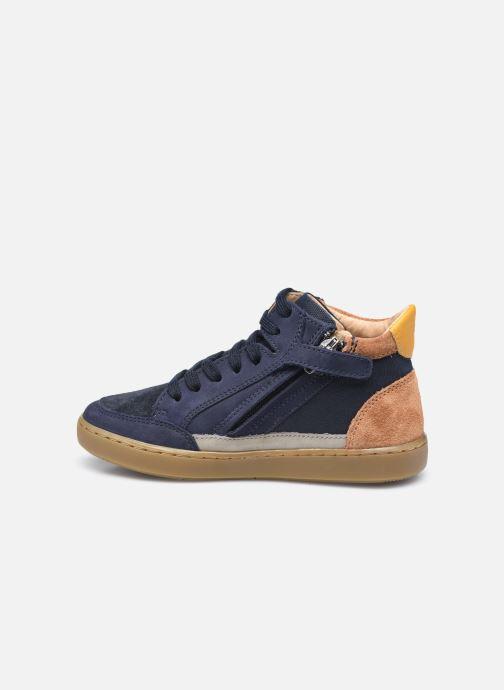 Sneaker Shoo Pom Play Connect blau ansicht von vorne