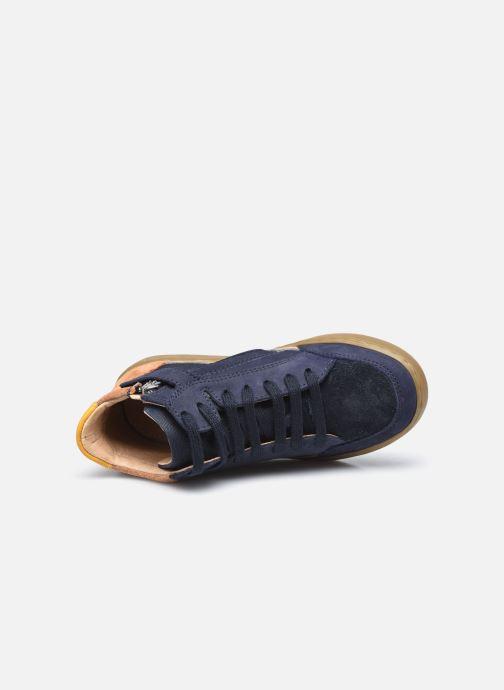 Sneaker Shoo Pom Play Connect blau ansicht von links