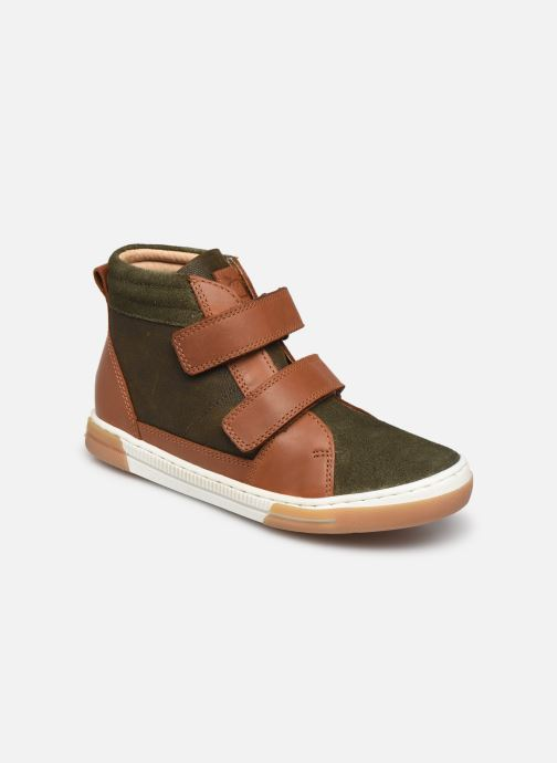 Sneaker Shoo Pom John Bowl Scratch grün detaillierte ansicht/modell