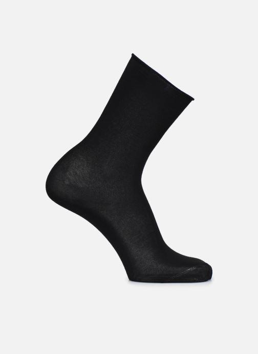 Chaussettes et collants BLEUFORÊT CHAUSSETTES VELOUTEES UNIES Noir vue détail/paire