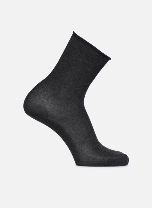 Sokken en panty's BLEUFORÊT CHAUSSETTES VELOUTEES UNIES Grijs detail