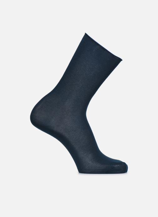 Sokken en panty's BLEUFORÊT CHAUSSETTES VELOUTEES UNIES Blauw detail