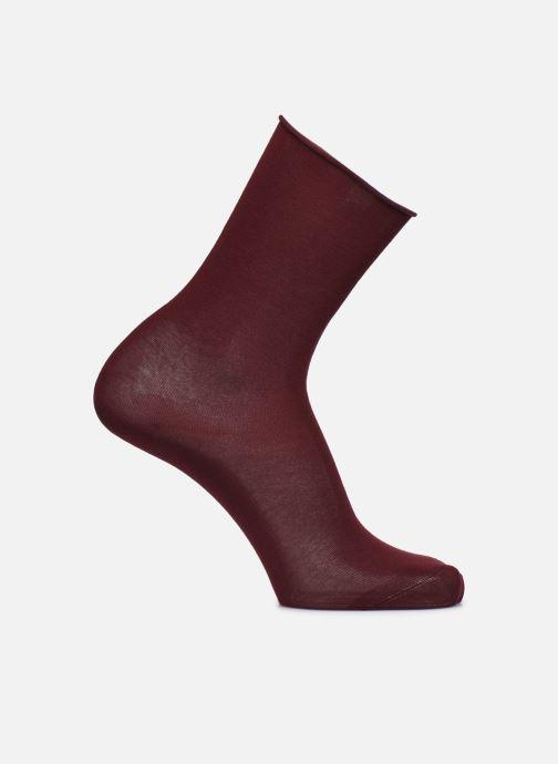 Sokken en panty's BLEUFORÊT CHAUSSETTES VELOUTEES UNIES Bordeaux detail