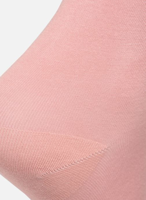 Calze e collant BLEUFORÊT CHAUSSETTES VELOUTEES UNIES Rosa modello indossato