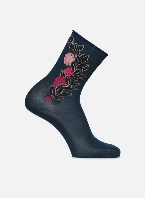 Socken & Strumpfhosen BLEUFORÊT CHAUSSETTES VELOUTEES FLEUR 30'S blau detaillierte ansicht/modell