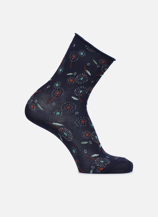 Sokken en panty's BLEUFORÊT CHAUSSETTES VELOUTEES PISSENTLIS Blauw detail