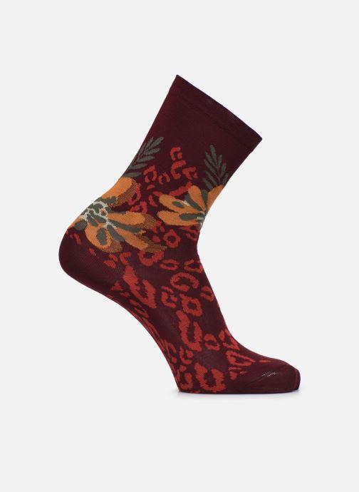Chaussettes et collants BLEUFORÊT CHAUSSETTES PEAU DE BETE FLEURS Multicolore vue détail/paire